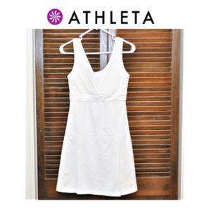 Athleta White Tennis/Golf Dress Sz XS